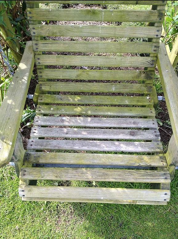 Di-ard Algae Treatment Wooden Chair